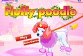 Играть Пушистый пудель онлайн флеш игра для детей