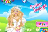 Играть Идеальная свадьба Барби онлайн флеш игра для детей