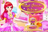 Играть Магия принцесса спальня онлайн флеш игра для детей