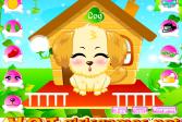 Играть Симпатичная собачка онлайн флеш игра для детей