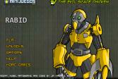 Играть Бешеный робот онлайн флеш игра для детей