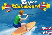 Играть Супер вейкборд онлайн флеш игра для детей