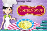 Играть Сара готовит чудесный куриный суп онлайн флеш игра для детей