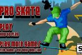 Играть Профессионал на скейте онлайн флеш игра для детей