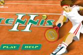 Играть Теннис 2 онлайн флеш игра для детей