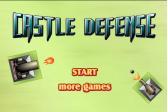 Играть Замок обороны онлайн флеш игра для детей