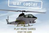 Играть Война вертолёта онлайн флеш игра для детей