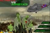 Играть Деревенщина против зомби онлайн флеш игра для детей
