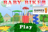 Играть Маленький мотоциклист онлайн флеш игра для детей