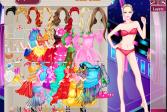 Играть Барби танцует со звёздами онлайн флеш игра для детей