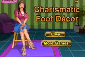Играть Татуировки на ногах онлайн флеш игра для детей