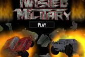 Играть Военная перестрелка онлайн флеш игра для детей