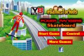 Играть Сильный рейнджер на скейте онлайн флеш игра для детей