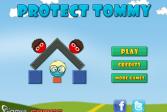 Играть Защитите Томми онлайн флеш игра для детей