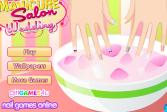 Играть Маникюрный салон. Свадьба онлайн флеш игра для детей