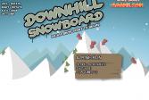 Играть Даунхил на сноуборде онлайн флеш игра для детей