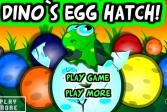 Играть Выведи яйцо динозавра онлайн флеш игра для детей