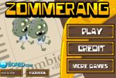 Играть Зомеранг онлайн флеш игра для детей