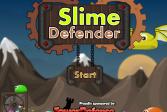 Играть Оборона от нашествия слизней онлайн флеш игра для детей