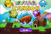 Играть Сахарное орудие онлайн флеш игра для детей