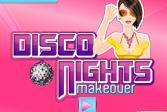 Играть Макияж для ночной дискотеки онлайн флеш игра для детей