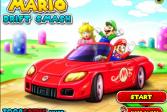 Играть Марио разгромные гонки онлайн флеш игра для детей