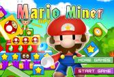 Играть Марио минёр онлайн флеш игра для детей