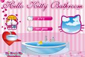 Играть Привет Китти Ванная онлайн флеш игра для детей