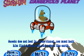 Играть Скуби Ду опасная планета онлайн флеш игра для детей