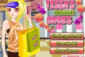 Играть Летний педикюр Тессы онлайн флеш игра для детей