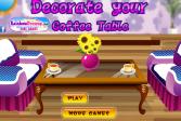 Играть Укрась свой журнальный столик онлайн флеш игра для детей