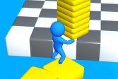 Играть Бег Stacky Run онлайн флеш игра для детей