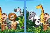 Найди семь отличий - Животные Find Seven Differences - Animals