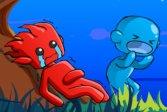 Огонь-мальчик и девочка-вода выживание на острове 4 Fireboy Watergirl Island Survival 4