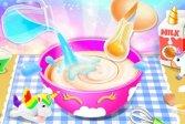 Сделать торт маленькой принцессы с единорогом Little Princess Unicorn Cake Make