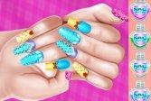 Маникюр для Принцессы Princess Theme Nail Art DIY
