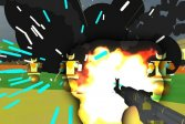База роботов на выбывание 3D Robot Base Shootout 3D