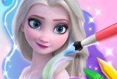 Книжка-раскраска для Эльзы Coloring Book For Elsa