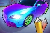 Раскрась мою машину 3D Paint My Car 3D