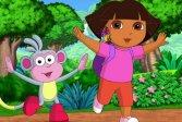 Раскраска Дора Исследовательница Dora The Explorer Coloring