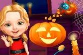 Милая девочка Хэллоуин весело Sweet Baby Girl Halloween Fun