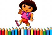 Книжка-раскраска BTS Dora Coloring Book