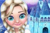 Игра про дизайн и украшение кукольного домика ледяной принцессы Ice Princess Doll House Design and Decoration Game
