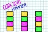Сортировка куба: бумажная записка Cube Sort: Paper Note