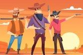 Стрельба по Дикому Западу Wild West Shooting