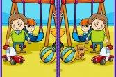 Различия в детских фотографиях Kids Photo Differences