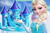 Принцесса замороженный кукольный домик украшение princess frozen doll house decoration