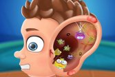 Поликлиника ушного врача - веселая и бесплатная игра в больницу Ear doctor polyclinic - fun and free Hospital game
