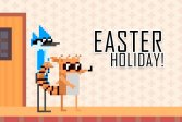 Праздник Пасхи Мардохея и Ригби Mordecai and Rigby Easter Holiday