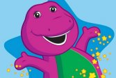 Раскраска Барни Barney Coloring